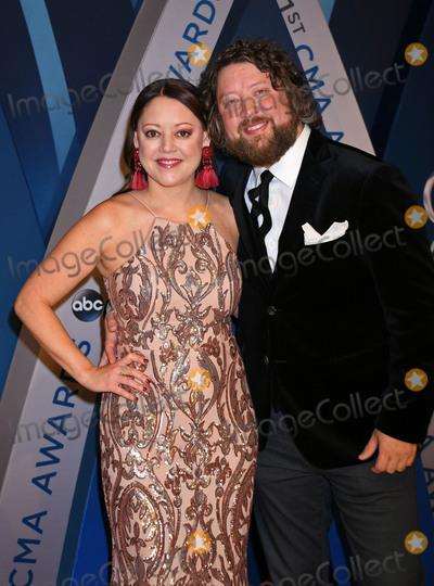 Hillary Lindsey Photo - 08 November 2017 - Nashville Tennessee - Hillary Lindsey 51st Annual CMA Awards Country Musics Biggest Night held at Bridgestone Arena Photo Credit Laura FarrAdMedia
