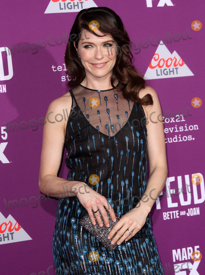 Graumans Chinese Theatre Photo - 1 March 2017 - Los Angeles California - Katie Aselton FXs Feud Bette and Joan Premiere held at the Graumans Chinese Theatre Photo Credit AdMedia