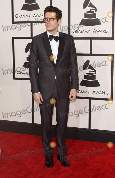 John Mayer Photo - 08 February 2015 - Los Angeles California - John Mayer 57th Annual GRAMMY Awards held at the Staples Center Photo Credit AdMedia
