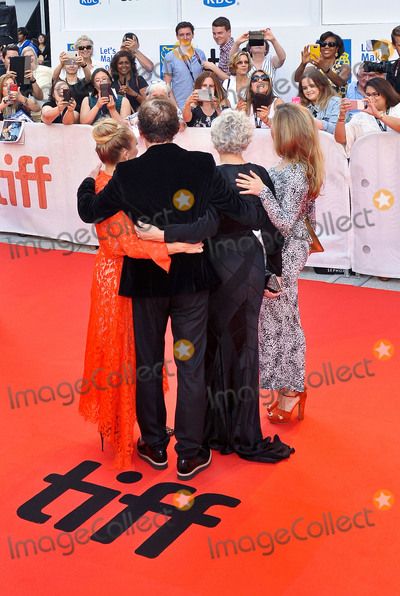 Annie Starke Photo - 14 September 2017 - Toronto Ontario Canada - Alix Wilton Regan Glenn Close Bjorn Runge and Annie Starke 2017 Toronto International Film Festival - The Wife Premiere held at Roy Thomson Hall Photo Credit Brent PerniacAdMedia