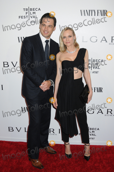 Diane Kruger Photo - 23 April 2019 - New York New York - Daniel Paltridge and Diane Kruger at BVLGARIs World Premiere of Celestial and The Fourth Wave with Vanity Fair for the 18th Annual Tribeca Film Festival at Spring Studios Photo Credit LJ FotosAdMedia