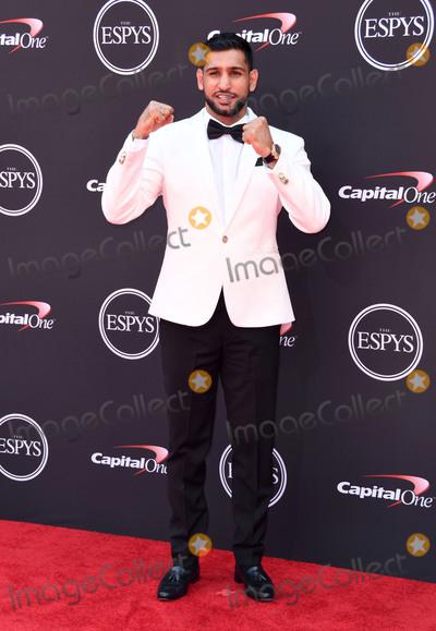 Amir Khan Photo - 18 July 2018 - Los Angeles California - Amir Khan The 2018 ESPYS held at the Microsoft Theater Photo Credit Birdie ThompsonAdMedia