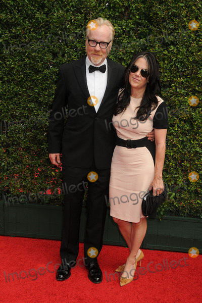 Adam Savage Photo - 12 September 2015 - Los Angeles California - Adam Savage Julia Ward 2015 Creative Arts Emmy Awards - Arrivals held at the Microsoft Theatre Photo Credit Byron PurvisAdMedia
