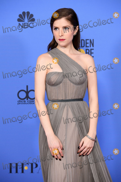 Anna Kendrick Photo - Anna Kendrick 74th Annual Golden Globes Awards held at the Beverly Hilton in Beverly Hills CA on Sunday January 8 2017 Photo Credit HFPAAdMedia