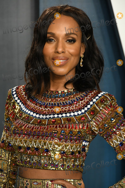 Kerry Bish Photo - 09 February 2020 - Los Angeles California - Kerry Washington 2020 Vanity Fair Oscar Party following the 92nd Academy Awards held at the Wallis Annenberg Center for the Performing Arts Photo Credit Birdie ThompsonAdMedia