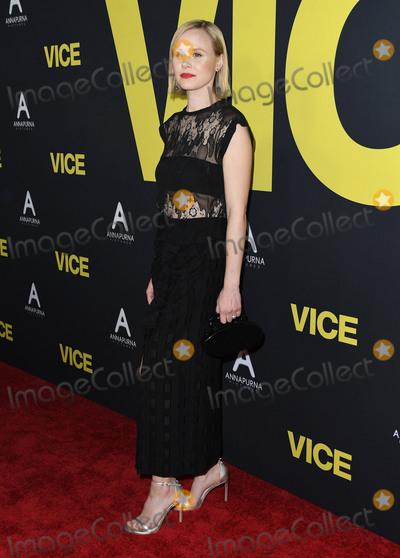 Alison Pill Photo - 11 December 2018 - Beverly Hills California - Alison Pill Vice Los Angeles Premiere held at Samuel Goldwyn Theater Photo Credit Birdie ThompsonAdMedia