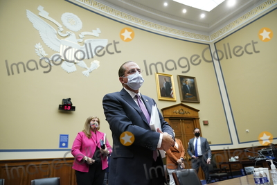 Alex Azar Photo - United States Secretary of Health and Human Services (HHS) Alex Azar wraps up his testimony before the US House Select Subcommittee on the Coronavirus Crisis on Capitol Hill in Washington Friday Oct 2 2020  Credit J Scott Applewhite  Pool via CNPAdMedia