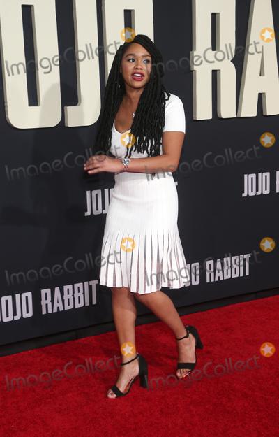 Tanisha Long Photo - 15 October 2019 - Los Angeles California - Tanisha Long Premiere Of Fox Searchlights Jojo Rabbit held at Post 43 Photo Credit FayeSAdMedia