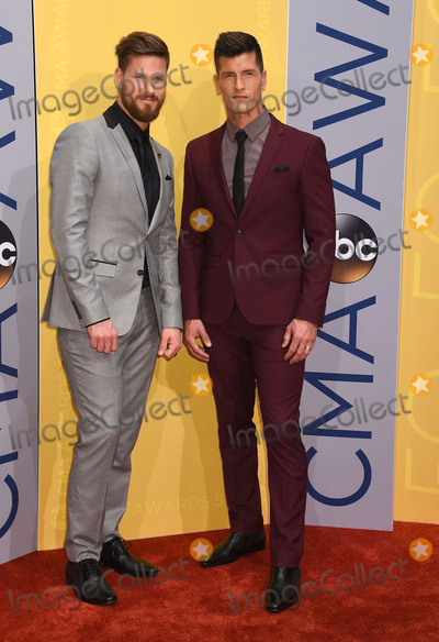 Curtis Rempel Photo - 02 November 2016 - Nashville Tennessee - Curtis Rempel and Brad Rempel of musical duo High Valley 50th Annual CMA Awards Then Now Forever Country 2016 CMA Awards Country Musics Biggest Night held at Bridgestone Arena Photo Credit Laura FarrAdMedia