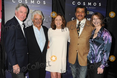 Alan Silvestri Photo - 3 August 2014 - Beverly Hills California - Alan Silvestri Mitchell Cannold Ann Druyan Neil DeGrasse Tyson Jennifer Ouellette Cosmos A Spacetime Odyssey Screening and QA Panel held at The Paley Center For Media Photo Credit Byron PurvisAdMedia