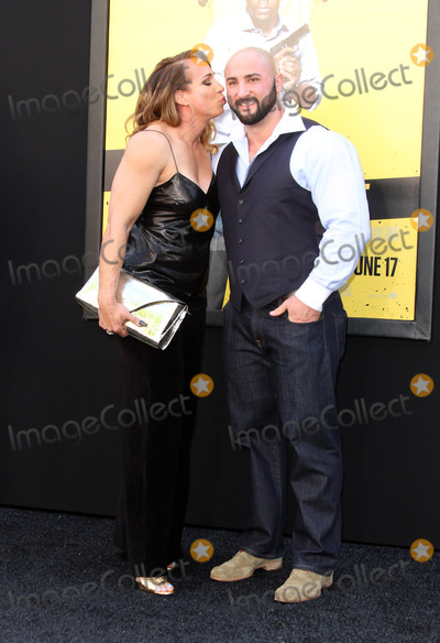Dany Garcia Photo - 10 June 2016 - Los Angeles California - Dany Garcia and husband Dave Rienzi Central Intelligence Los Angeles Premiere held at Westwood Village Theatre Photo Credit AdMedia