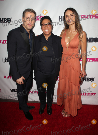 Angela Robinson Photo - 12 July 2018 - Los Angeles California - Christopher Racster Angela Robinson Jordana Brewster  2018 Outfest Los Angeles LGBT Film Festival Opening Night Gala of STUDIO 54 at the Orpheum Theatre Photo Credit F SadouAdMedia
