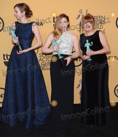 Annie Golden Photo - 25 January 2015 - Los Angeles California - Lauren Lapkus Natasha Lyonne Annie Golden21st Annual SAG Awards Press Room held at the Los Angeles Shrine Exposition Center Photo Credit Birdie ThompsonAdMedia