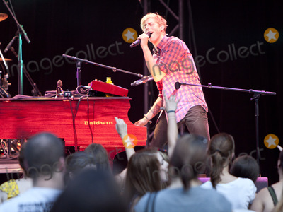 Andrew McMahon Photo - August 24 2011 - Atlanta GA - Andrew McMahon Jacks Mannequin made a stop at Chastain Park  and performed for an enthusiastic crowd of fans Photo credit Dan HarrAdMedia