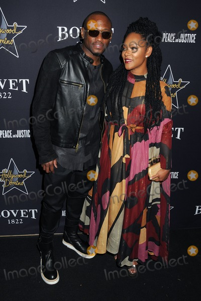 Omar Epps Photo - 19 February 2015 - West Hollywood California - Omar Epps Hollywood Domino Annual Pre-Oscar Soiree  Tournament 2015 held at the Sunset Tower Hotel Photo Credit Byron PurvisAdMedia