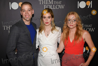 Alice Englert Photo - 30 July 2019 - Los Angeles California - Dan Madison Savage Alice Englert Britt Poulton Them That Follow Los Angeles Premiere held at the Landmark Theatre Photo Credit Billy BennightAdMedia