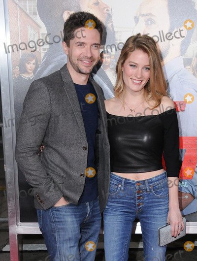 Ashley Hinshaw Photo - 13 February 2017 - Westwood California - Ashley Hinshaw Topher Grace Fist Fight Los Angeles premiere held at Regency Village Theatre Photo Credit Birdie ThompsonAdMedia