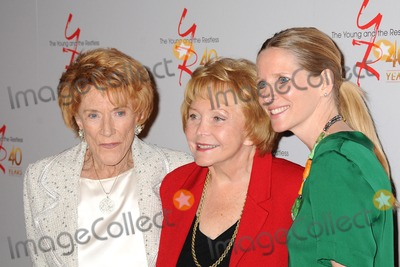 Jeanne Cooper Photo - 26 March 2013 - Los Angeles California - Jeanne Cooper Lee Phillip Bell Lauralee Bell The Young  The Restless 40th Anniversary Celebration held at CBS Television City Photo Credit Byron PurvisAdMedia