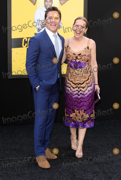Amy Ryan Photo - 10 June 2016 - Los Angeles California - Michael Doyle and Amy Ryan Central Intelligence Los Angeles Premiere held at Westwood Village Theatre Photo Credit AdMedia