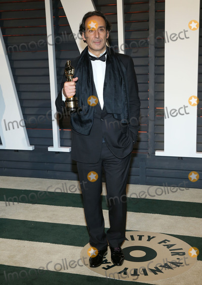 Alexandre Desplat Photo - 22 February 2015 - Beverly Hills California - Alexandre Desplat 2015 Vanity Fair Oscar Party Hosted By Graydon Carter following the 87th Academy Awards held at the Wallis Annenberg Center for the Performing Arts Photo Credit AdMedia