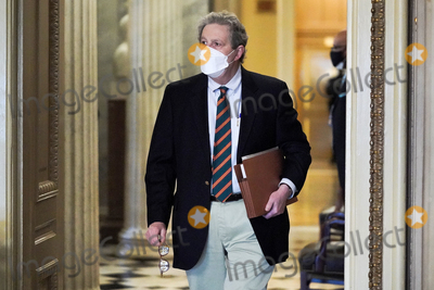 Kennedy Photo - Sen John Kennedy (R-La) arrives to the Senate Chamber for the fifth day of the impeachment trial of former President Donald Trump on Saturday February 13 2021Credit Greg Nash - Pool via CNPAdMedia