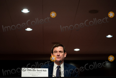 Foreigner Photo - David Hale under secretary of state for political affairs at the State Department testifies at a Senate Committee on Foreign Relations hearing on US Policy in the Middle East on Capitol Hill in Washington DC on September 24 2020 Credit Erin Schaff  Pool via CNPAdMedia