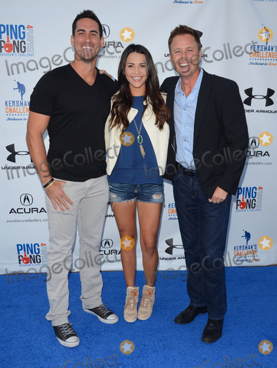 Andi Dorfman Photo - 09 September 2014 - Los Angeles California - Josh Murray Andi Dorfman Chris Harrison Arrivals for Clayton Kershaws 2nd Annual Ping Pong 4 Purpose Charity Event benefiting Kershaws Challenge held at  Dodger Stadium in Los Angeles Ca Photo Credit Birdie ThompsonAdMedia