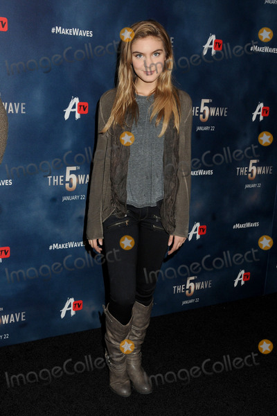 Brighton Sharbino Photo - 14 January 2016 - Los Angeles California - Brighton Sharbino The 5th Wave Los Angeles Premiere held at Pacific Theatres At The Grove Photo Credit Byron PurvisAdMedia