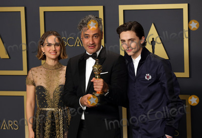 Natalie Portman Photo - 09 February 2020 - Hollywood California - Natalie Portman Timothe Chalamet Taika Waititi attend  the 92nd Annual Academy Awards presented by the Academy of Motion Picture Arts and Sciences held at Hollywood  Highland Center Photo Credit Theresa ShirriffAdMedia