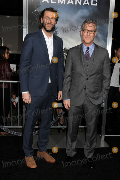 Andrew Form Photo - 27 January 2015 - Hollywood California - Andrew Form Brad Fuller Project Almanac Los Angeles Premiere held at the TCL Chinese Theatre Photo Credit Byron PurvisAdMedia