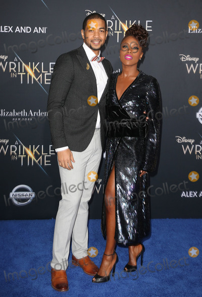Alano Miller Photo - 26 February 2018 - Hollywood California - DeWanda Wise Alano Miller Disneys A Wrinkle In Time World Premiere held at El Capitan Theatre Photo Credit F SadouAdMedia