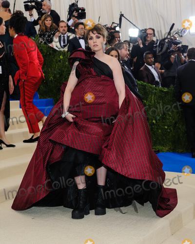 Lena Dunham Photo - 01 May 2017 - Lena Dunham 2017 Metropolitan Museum of Art Costume Institute Benefit Gala at The Metropolitan Museum of Art Photo Credit Christopher SmithAdMedia