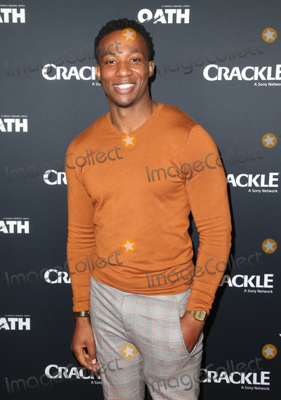 Arlen Escarpeta Photo - 15 January 2018 - Pasadena California - Arlen Escarpeta The Oath Photo Opp with the cast of Crackles new drama series at The Winter TCA Photo Credit F SadouAdMedia
