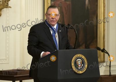 Keane Photo - United States Army General John M Jack Keane (retired) makes remarks after being presented with the Presidential Medal of Freedom by US President Donald J Trump   during a ceremony in the East Room of the White House in Washington DC on Tuesday March 10 2020  Keane is a former Vice Chief of Staff of the US Army and is a Fox News national security analystCredit Ron Sachs  CNPAdMedia