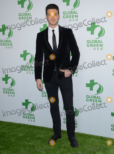 Aaron Lee Photo - 18 February 2015 - Hollywood Ca - Aaron Lee Arrivals for Global Green USAs 12th Annual Pre-Oscar Party held at Avalon Hollywood Photo Credit Birdie ThompsonAdMedia