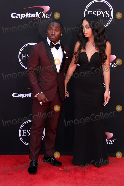 Dion Photo - 12 July 2017 - Los Angeles California - Dion Lewis 2017 ESPYS Awards Arrivals held at the Microsoft Theatre in Los Angeles Photo Credit AdMedia