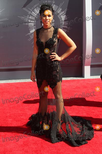 Alexandra Shipp Photo - 24 August  2014 - Inglewood California - Alexandra Shipp 2014 MTV Video Music Awards held at The Forum Photo Credit F SadouAdMedia