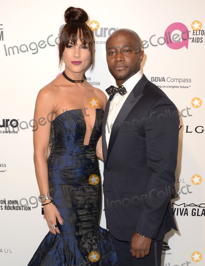 Amanza Smith Photo - 28 February 2016 - West Hollywood California - Amanza Smith Taye Diggs 24th Annual Elton John Academy Awards Viewing Party sponsored by Bvlgari MAC Cosmetics Neuro Drinks and Diana Jenkins held at West Hollywood Park Photo Credit Birdie ThompsonAdMedia