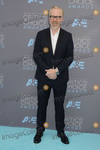 Adam Savage Photo - 17 January 2016 - Santa Monica California - Adam Savage 21st Annual Critics Choice Awards - Arrivals held at Barker Hangar Photo Credit Byron PurvisAdMedia