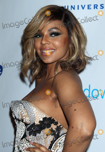 Ashanti Douglas Photo - 26 January 2014 - Los Angeles California - Ashanti Douglas Universal Music Group 2014 Post Grammy Party held at The Theatre at Ace Hotel Photo Credit Russ ElliotAdMedia