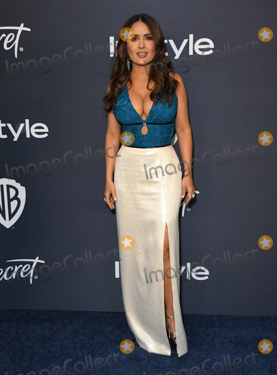 Salma Hayek Photo - 05 January 2020 - Beverly Hills California - Salma Hayek Pinault 21st Annual InStyle and Warner Bros Golden Globes After Party held at Beverly Hilton Hotel Photo Credit Birdie ThompsonAdMedia