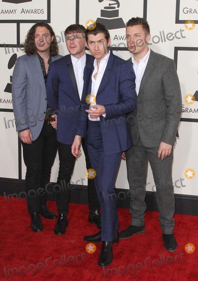 Alex Turner Photo - 08 February 2015 - Los Angeles California - Nick OMalley Jamie Cook Alex Turner and Matt Helders Arctic Monkeys57th Annual GRAMMY Awards held at the Staples Center Photo Credit AdMedia