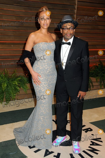 Tonya Lewis Lee Photo - 02 March 2014 - West Hollywood California - Tonya Lewis Lee Spike Lee 2014 Vanity Fair Oscar Party following the 86th Academy Awards held at Sunset Plaza Photo Credit Byron PurvisAdMedia