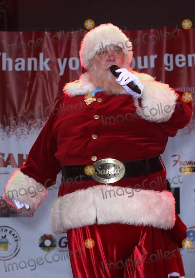 Wayne Newton Photo - 02 December 2017 - Las Vegas NV - Santa Claus 2017 Las Vegas Great Santa Run Kickoff with Grand Marshals Wayne Newton and Holly Madison at The Fremont Street Experience Photo Credit MJTAdMedia
