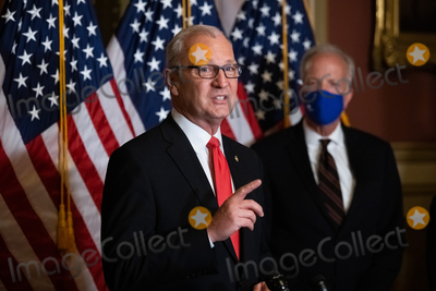 Supremes Photo - Senator Kevin Cramer R-ND speaks during a press conference after President Trumps Supreme Court nominee Judge Amy Coney Barrett was confirmed by the Senate as the 115th justice to the Supreme Court on Capitol Hill Monday October 26th 2020AdMedia