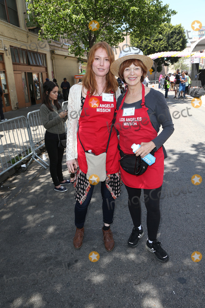 Alicia Witt Photo - 14 April 2017 - Los Angeles California - Alicia Witt Frances Fisher Los Angeles Missions Easter Celebration For The Homeless Photo Credit AdMedia