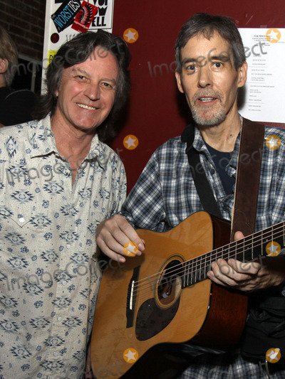 Jeff Hanna Photo - July 26 2011 - Nashville TN - Jeff Hanna of the Nitty Gritty Dirt Band and Nashville session musician Pete Huttlinger Artists musicians and songwriters came together at Mercy Lounge to help raise funds for Pete Huttlinger a widely respected guitarist and Nashville studio artist  Huttlinger has a congenital heart disease and is in need of a heart transplant Photo credit Dan HarrAdmedia
