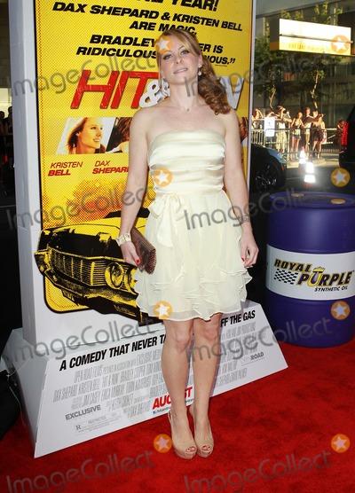 Carly Hatter Photo - 14 August 2012 - Los Angeles California - Carly Hatter Hit  Run Los Angeles Premiere Held at A The Regal Cinemas LA Live Photo Credit Kevan BrooksAdMedia