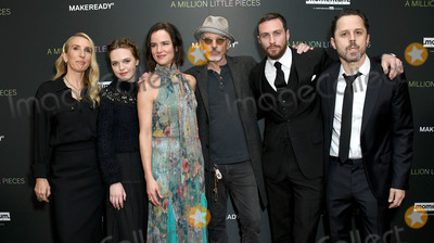 Aaron Taylor-Johnson Photo - 04 December 2019 - West Hollywood California - Sam Taylor-Johnson Odessa Young Juliette Lewis Billy Bob Thorton Aaron Taylor-Johnson Giovanni Ribisi Special Screening Of Momentum Pictures A Million Little Pieces held at The London West Hollywood Photo Credit Birdie ThompsonAdMedia
