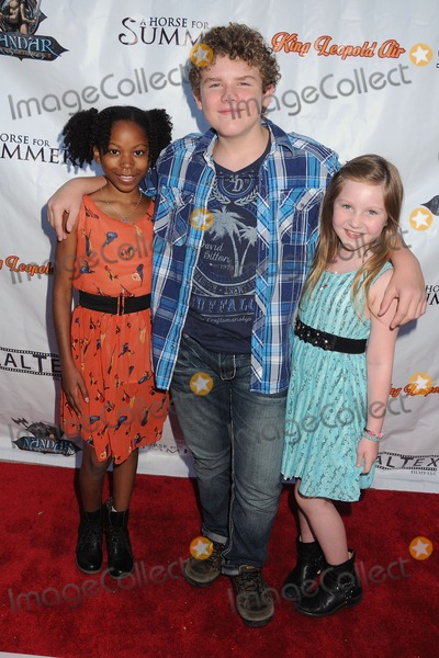 Ella Anderson Photo - 22 July 2014 - Los Angeles California - Riele Downs Sean Ryan Fox Ella Anderson A Horse For Summer Los Angeles Premiere held at the Laemmle Music Hall Photo Credit Byron PurvisAdMedia